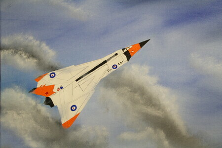 Avro Arrow 16 x 20 $250