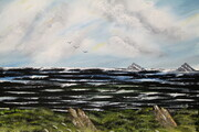 Black Sea 16 x 20 oil $200