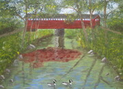 Covered Bridge 11x14 $175
