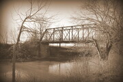 Cut Bridge 16x20 matted print $70