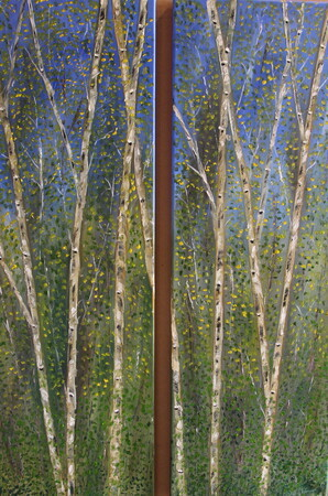 Double Birch 2-12 x 36 oil $700