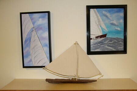 drift wood sailboat