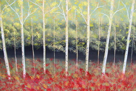 Early Autumn 24 x 36 galley wrapped acrylic sold