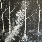 Into the Woods 16 x 20
