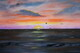 Para Sail Evening 24 x 36 oil on board $400
