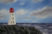 Peggy's Cove 16 x 20 h $400