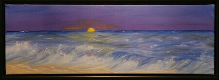 Spring Waves 8 x 24 $225F