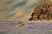 The Rock,  Newfoundland  18 x 24 oil $495