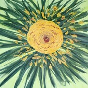 Flowering Sun Burst   24 X 24 acrylic $250