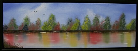 Wildwood Lake 12 x 24 $225