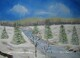 Winter Creek 11 x 14 $150